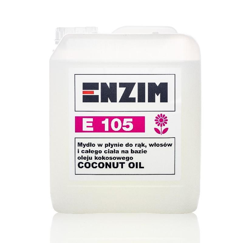 ENZIM E105 Mydło do rąk i całego ciała COCONUT OIL
