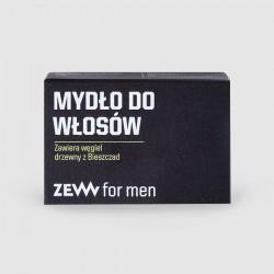 ZEW for men Mydło do Włosów z węglem drzewnym