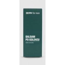 ZEW for men Balsam po goleniu z czarną hubą 80ml