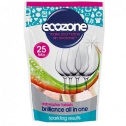Ecozone, Tabletki do Zmywarki 5w1, 25 szt.