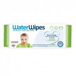 WaterWipes, Chusteczki nasączane czystą wodą, Soapberry (z dodatkiem wyciągu  z orzechów...