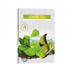 BISPOL Podgrzewacze zapachowe Zielona herbata 6szt