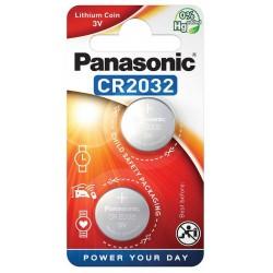 PANASONIC  bateria litowa - guzikowa CR2032 2szt