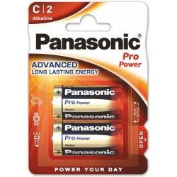 PANASONIC PRO POWER baterie alkaliczne C LR14 2szt