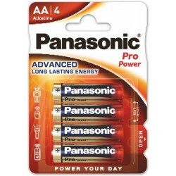 PANASONIC PRO POWER baterie alkaliczne AA LR6 4szt