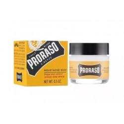 PRORASO Wosk do wąsów, Wood & Spice 15 ml
