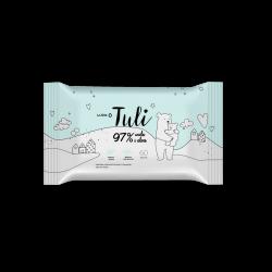 LUBA TULI Chusteczki dla dzieci nawilżane wodą i aloesem