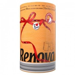 RENOVA 1szt Red Label Orange Ręcznik Papierowy