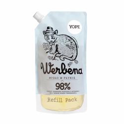 YOPE REFILL Naturalne Mydło w płynie Werbena 500 ml