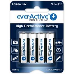 Baterie AA / LR6 everActive Pro Alkaline - 4 sztuki (blister)