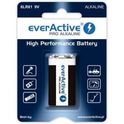 Bateria alkaliczna 6LR61 9V everActive Pro - 1 sztuka (blister) (R9*)